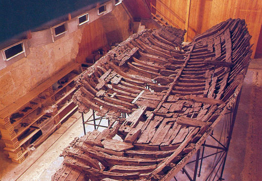 Ancient ship of Kyrenia