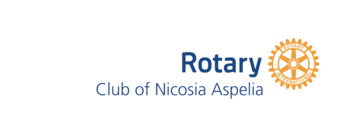 Logo of the Rotary Club of Nicosia Aspelia as of 2015